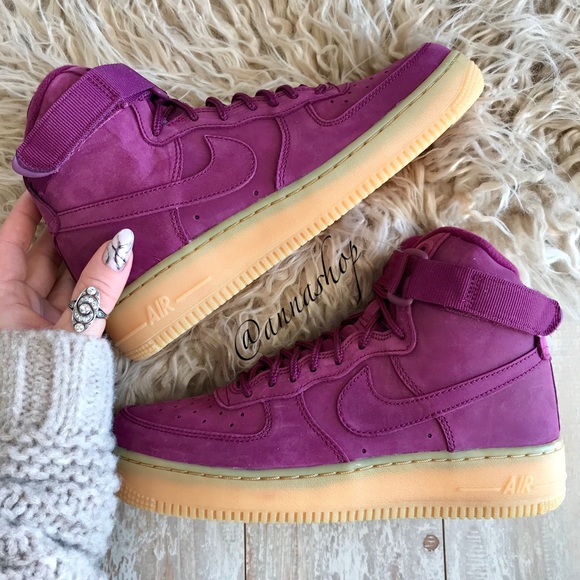 acheter populaire 72812 12507 NWT Nike Air Force 1 Bordeaux NWT